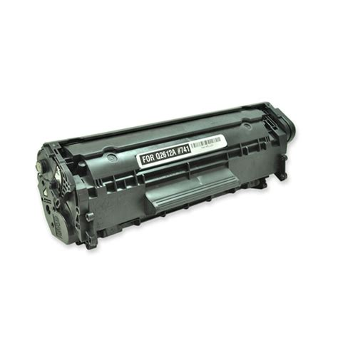 Toner Laserjet 12a hp q2612a black laser toner cartridge colortonerexpert
