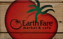 Earth Fare Gift Card - sell earth fare gift cards raise
