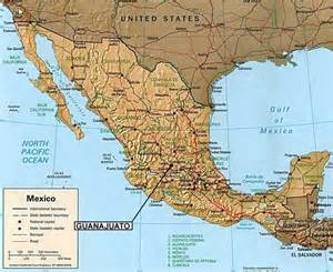 Guanajuato Mexico Map by Casa Dionisio Guanajuato Mexico