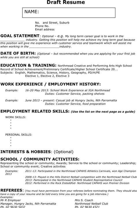 Download Sample Waitress Resume for Free | Page 2