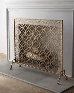 fireplace screen home