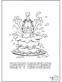 happy birthday coloring card free coloring pages of happy birthday cards cooloring