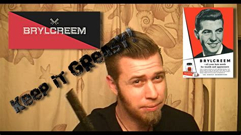 how to use brylcreem how to use brylcreem and review youtube