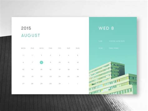 layout of a calendar calendar design inspiration muzli design inspiration
