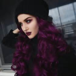 black violet hair color 25 best ideas about purple hair on plum