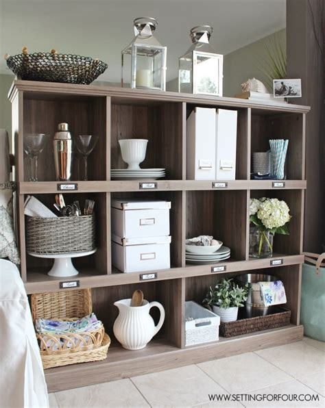 kitchen bookcase ideas a kitchen storage and display bookcase setting for four