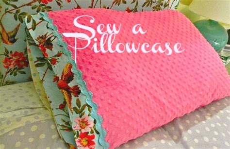 How To Make Baby Pillow Cases by The Design Pages Diy Simple Sewing Make A Pillowcase