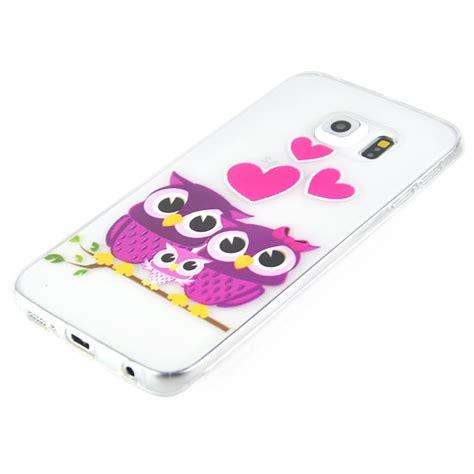 Kp368 Soft Anticrack Ultrathin Samsung Galaxy S7 Je Kode Tyr424 galaxy s6 edge kryt na samsung galaxy s6 edge happy owl family