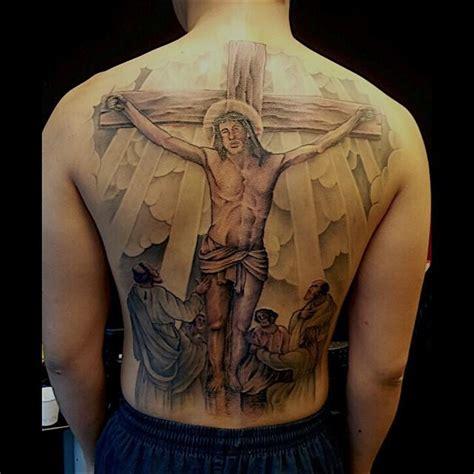 Tattoo Jesus Cristo Nas Costas | 70 tatuagens de jesus cristo impressionantes