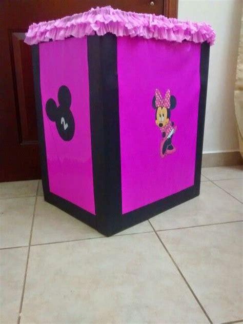 imagenes cajas para colocar regalos de cumpleaos caja de regalos minnie mouse caja de regalos pinterest