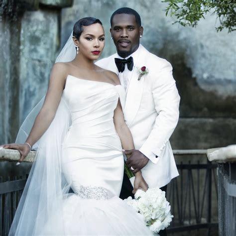 just married letoya luckett and tommicus walker black