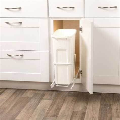 kitchen trash can storage cabinet gorgeous cabinet trash cans kitchen organization kitchen