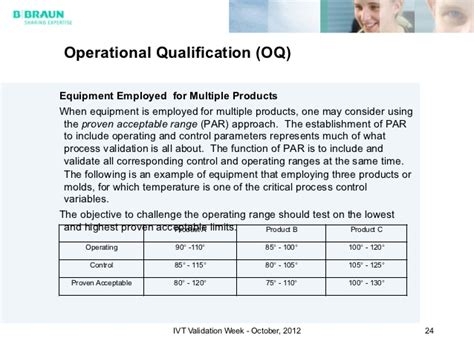 operational qualification protocol template equipment qualification