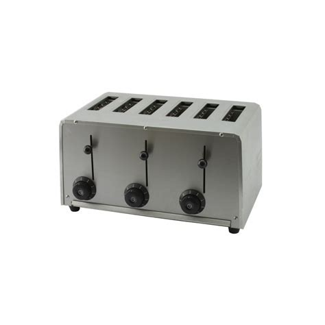 adaptateur induction 1726 toaster professionnel 6 tranches beckers au 6