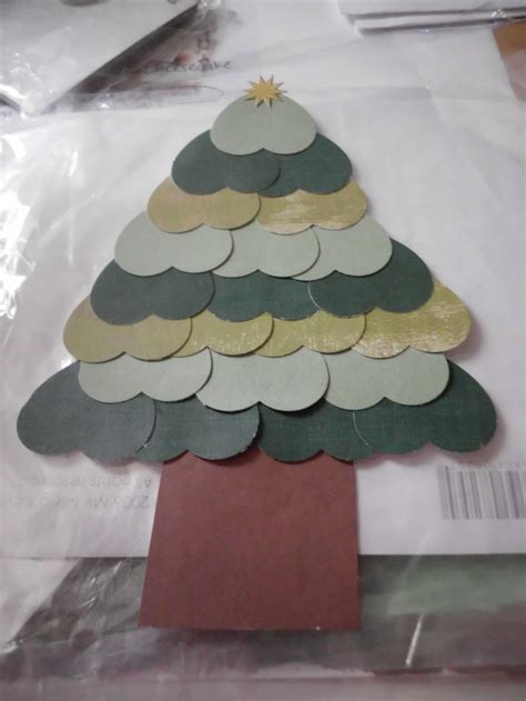 christmas tree made out of paper hearts my crafts