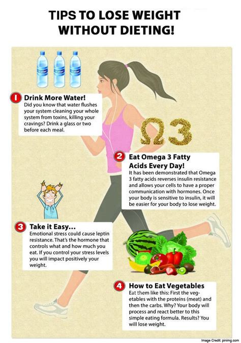 10 Safest Ways To Lose Weight by 10 Tips To Lose Weight Without Dieting