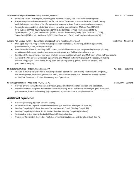 baseball resume template where can i get help writing a baseball coach resume