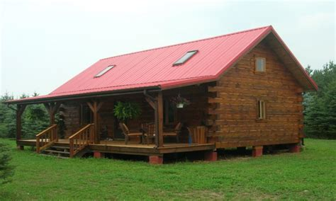 Small Barn Blueprints Small Log Home With Loft Small Log Cabin Home House Plans