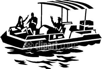 pontoon boat clipart pontoon boat party clip art www pixshark images