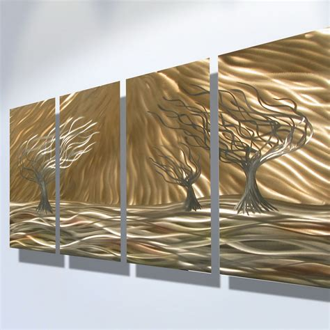 Modern Metal Wall Decor by Unique Metal Wall Decosee