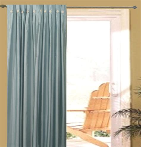 artisan box pleated patio curtain panel