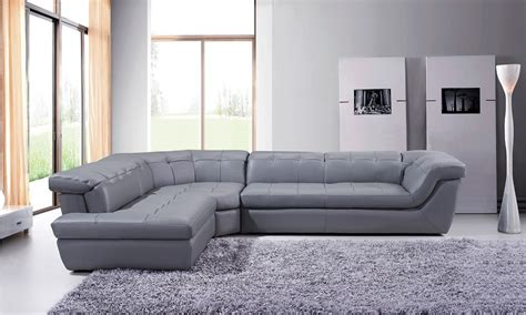 Contemporary Italian Leather Sectional Sofas Leather Upholstered Contemporary Italian Premium Sectional Sofa New York New York Nicoletti 397