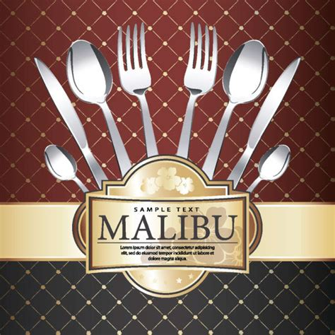 menu cover template commonly restaurant menu cover template vector set free