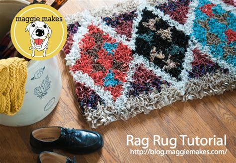 how to make a shaggy rag rug how to rag shag rug make