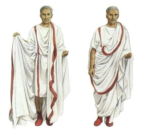 design roman clothes dress of senator ancient rome europe culture to