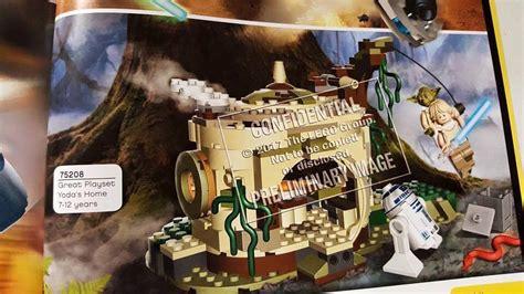 hutte wars lego wars un point sur les nouveaut 233 s pr 233 vues pour