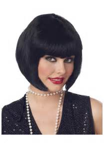 hairstyle wigs for black short black bob wig flapper hair styles wigs