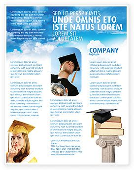 flyer design university university education flyer template background in