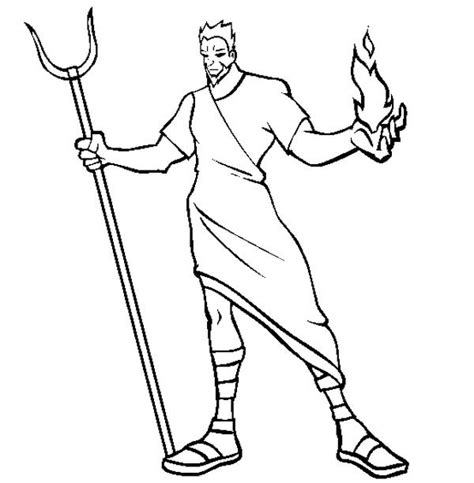 pin god hades coloring page greek gods pages on pinterest