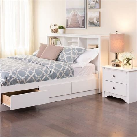 white double headboards full queen bookcase headboard in white wsh 6643