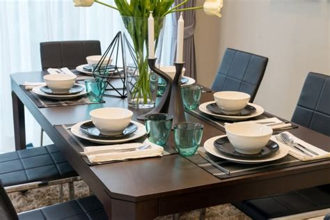 dining table setup 27 modern dining table setting ideas