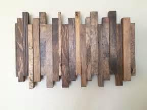 Wood Decorations 17 Best Ideas About Pallet Wall Art On Pinterest Serving