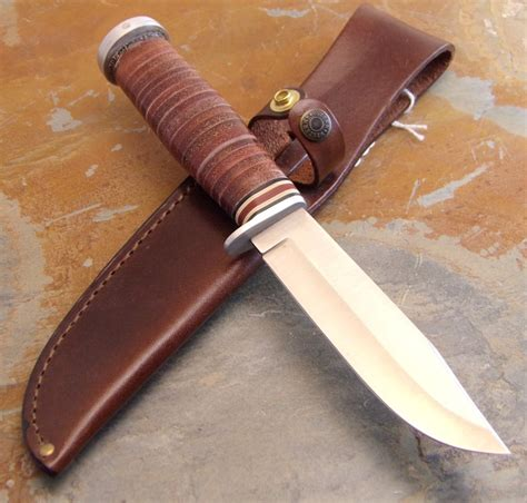 western fixed blade knives western usa made wl71 fixed blade knife