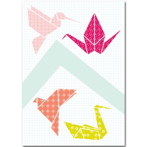 Origami Poster - poster origami bl ij