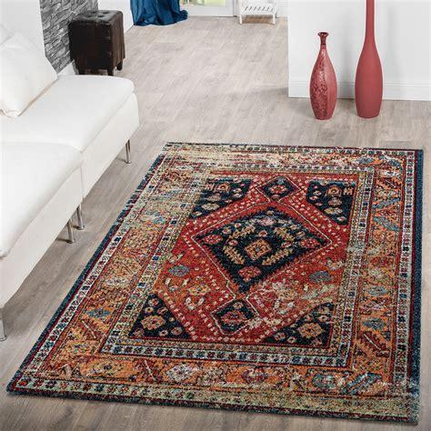 teppich wohnzimmer rot teppich modern wohnzimmer teppich orientalische muster