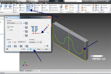 pattern along line solidworks tutorial how to pattern along a geometry line in autodesk