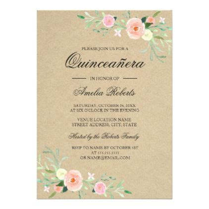 quince invitation templates quinceanera invitation templates invitations quinceanera