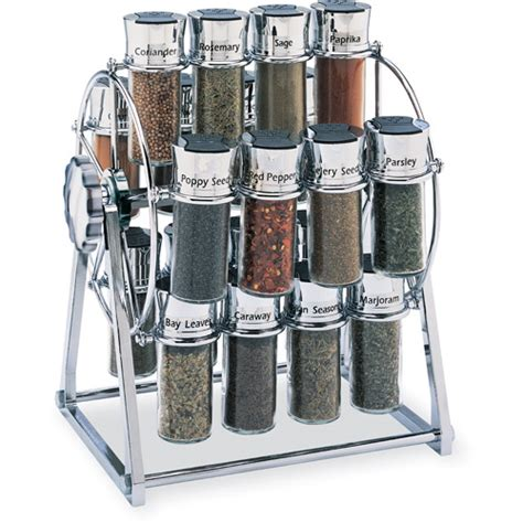 Olde Thompson 16 Jar Spice Rack Woodwork Revolving Spice Rack Plans Pdf Plans