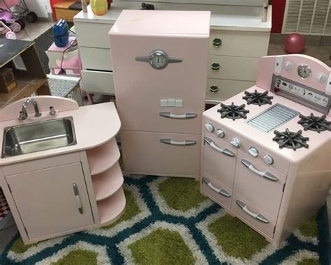 pottery barn kitchen furniture pottery barn vintage kitchen play set in pink furniture in chicago il offerup