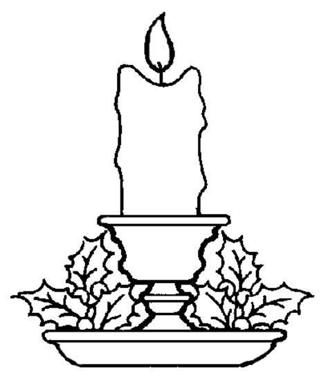the candle of love coloring page