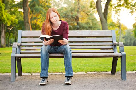 woman on bench bible school dropout nashville christian family magazine