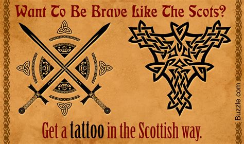 scottish tattoo designs meaning scottish designs that will bring out the warrior in you