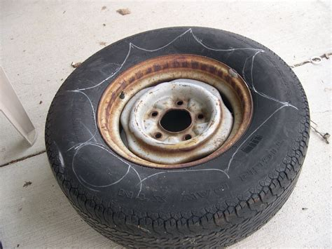 How To Make A Tire Planter by How To Make A Tire Planter