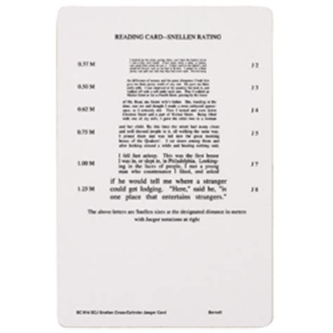 printable jaeger eye test chart snellen x cyl jaeger card