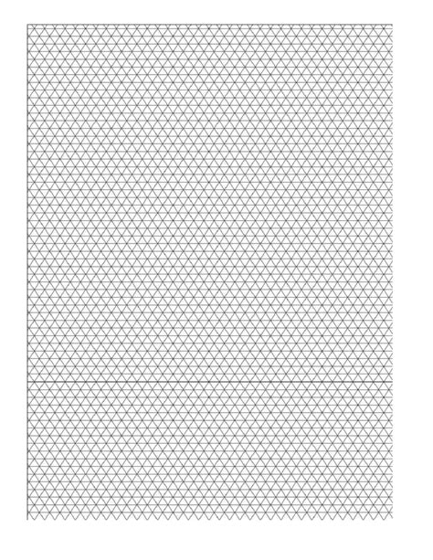 a4 5mm 3d isometric sketch graph paper free download