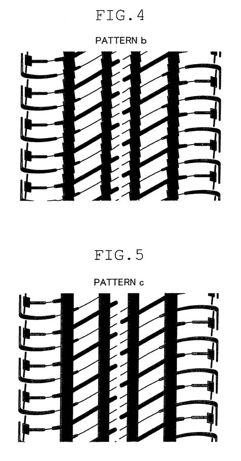 rib tread pattern en francais patente us8281830 pneumatic tire with tread pattern